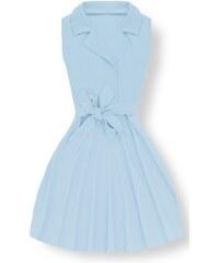 6f2c5905bcb6 MODOVO Elegantní dámské šaty 8514 světle modré