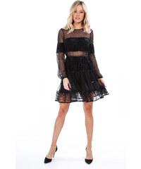 2fefaf32ca64 Černé elegantní šaty Fasardi