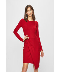 c9d77709eae6 Červené šaty se zipem ve zlaté barvě TALLY WEiJL - Glami.cz