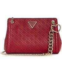 397bff6b8d GUESS kabelka Lyra Quattro G Convertible Crossbody červená