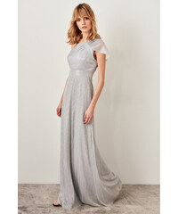 0ee87703d09b Trendyol Gray Sparkly Dress Grey