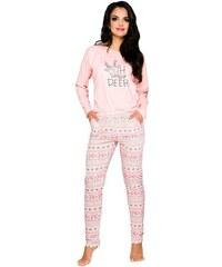 a75ffc2c3815 Taro Dámske bavlnené pyžamo Sofia s norským vzorom