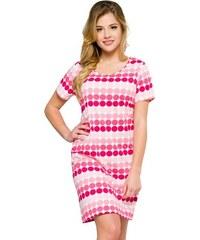 ac7475da4869 Regina Dlhá nočná košeľa Lidya ružová - Glami.sk
