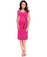 0f7379b2c065 9fashion Dojčiace a tehotenské šaty Janisa ružové