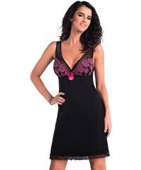 385fd6abce8b Donna Luxusná košieľka Vivien čierna s výšivkou