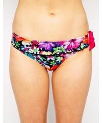 Pour Moi - Polynesia - Gerüschte Bikinihose - Mehrfarbig