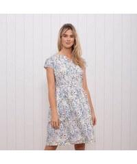 039b359b3481 Brakeburn Biele letné šaty s potlačou kvetov