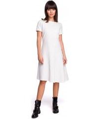 ba50222a1c4a BeWear dámské šaty M smetanová