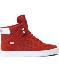 ca3510f117fb Pánske červené tenisky Supra VAIDER