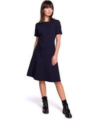 9a2ae3429ecd BeWear dámské šaty S tmavě modrá