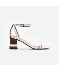 c9d061ee6335 Reserved - Členkové topánky so stredne vysokým opätkom a otvorenou ...