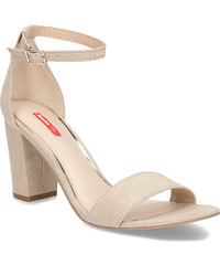 454dd9253934 Bata Red Label Béžové dámske sandále na stabilnom podpätku
