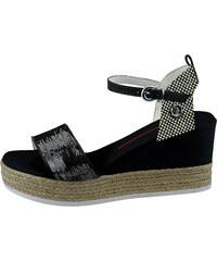 61d7da220b5e U.S. Polo ASSN. Dámske sandále DONET4176S9   T1 BLK