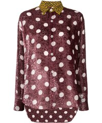 bb7ad1358c Golden Goose polka dot print shirt - Pink
