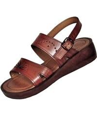 01e33d700d38 Faraon Sandals Dámské kožené sandály Ramesse s klínem