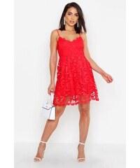 cd734b738909 BOOHOO Prémiové krajkové mini šaty