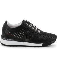 5229a0a2d5c5 Love Moschino Lapos talpú cipő JA15082G17IA - Fekete