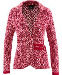bpc bonprix collection Trachten-Strickjacke langarm in rot für Damen von bonprix