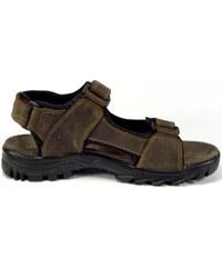 6a89b86fc6b8 Selma Sandál kožený hnědý MR71114