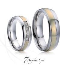 b91290990 Ligot Snubné prstene z chirurgickej ocele RC2044 RC2044 - Glami.sk