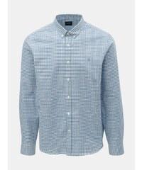 ed0f65009710 Svetlomodrá kockovaná košeľa Burton Menswear London