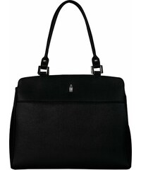 ec29d9d310 Wojewodzic luxusná kožená kabelka cez plece do práce čierna 31786 E