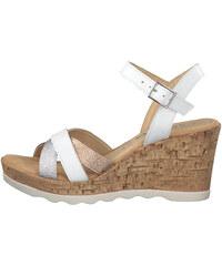 82a5d90238 Biele dámske sandále na platforme ALDO Jin - Glami.sk