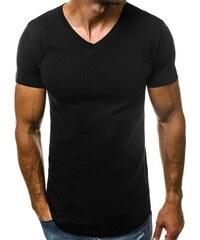 3f9df41ee6c9 Buďchlap Čierne tričko s V výstrihom O 1210