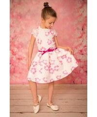 9b4a6166c9ed Sweety by krima Luxusné kvetované šaty z čipky