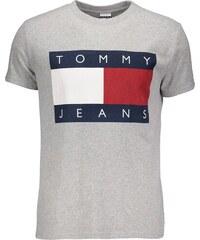 90879f1c0e Tommy Hilfiger Pánské tričko TOMMY JEANS - šedá