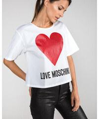 1e31aa762c12 Love Moschino Tričko Biela
