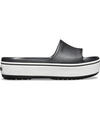 101ac75aa342 Crocs Crocband Platform Slide Black White M9W11 - vel.42