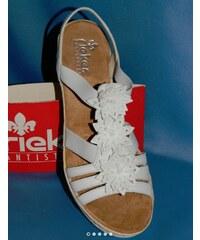 37802a09e2 Dámská obuv RIEKER 61949-80 LETNÍ vel. 40