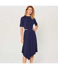 4067a57288e7 Mohito - Priliehavé šaty s asymetrickým spodným lemom - Modrá