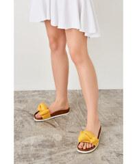 3430f1d0abd2 Trendyol Orange Women s Slippers Yellow