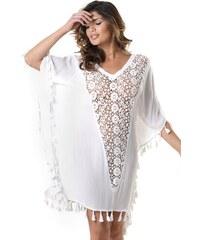 914ca6ef6fbb David Beachwear Dámské plážové šaty Anita bílá