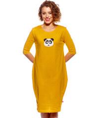 0b062968ca Pískacie Dámske šaty Puzdrové - L
