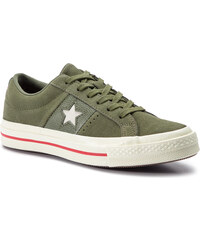 36cf5e0295 Teniszcipő CONVERSE - One Star Ox 163198C Field Surplus/Enamel Red/Egret