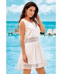 26503bd6b3da David Beachwear Dámské plážové šaty Michela bílá