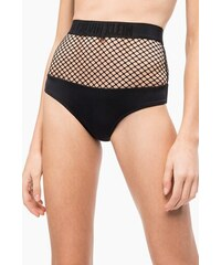 1dfa63e257 Calvin Klein fekete alsó rész fürdőruha Mesh High Waist Bikini PVH Black