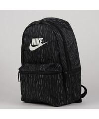 e42765030f Nike Heritage Backpack AOP černý   bílý