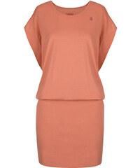 b269fcce8b24 LOAP Dámské šaty Asita Dessert Flower Pink CLW1972-E36J
