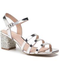 e07fc3868454 Sandále MENBUR - 20113 Silver 0009