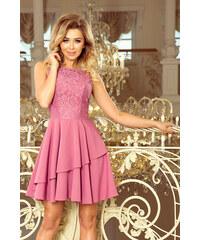 fa1f084c200f NUMOCO Elegantné lila šaty bez rukávov 236-1