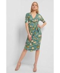 8dd3b225f128 ORSAY Zavinovací vzorované šaty
