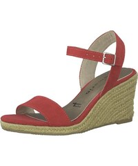 891c283784ea TAMARIS Páskové sandály tmavě červená