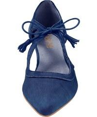 89e6e325650d heine Šnurovacie topánky námornícka modrá