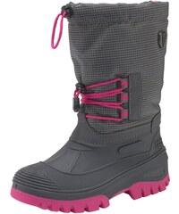 c47a804bc0 CMP Zimná obuv »Kids Ahto Waterproof Snow« sivá-pink ružová