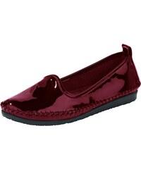 bad4e7d93549 Andrea Conti Nazúvacie topánky z lesklej