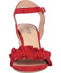 7ac3a14031b5 heine Sandále s plným podpätkom červená